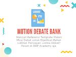 Jual Bank Mosi Topik Lomba Debat Bahasa Inggris Terlengkap