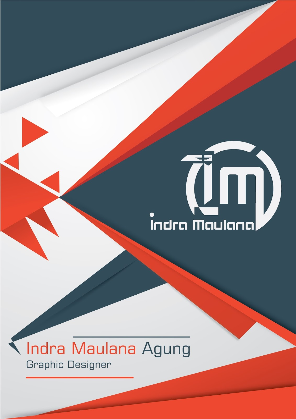 Free Download Template Poster Indra Maulana IDEOSPROCESS – Template Poster Free
