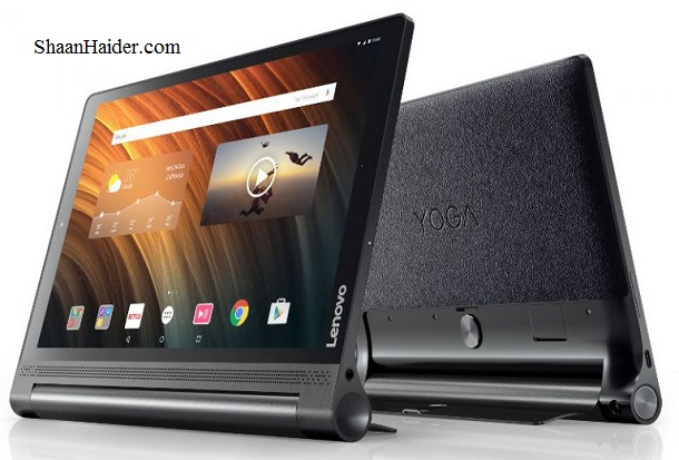 Lenovo Yoga Tab 3 Plus Android Tablet : Full Hardware Specs, Features, Price and Availability
