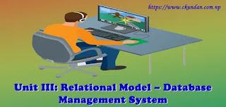 Relational Model – Database Management System