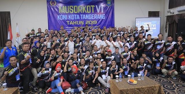 KONI Musorkot Di Bogor, Diharapkan Kolaborasi Antar-Pengcab