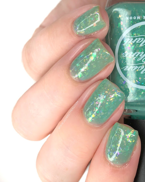 Moon Shine Mani I'm Gonna Go Get One of those Job Things 25 Sweetpeas
