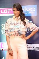 Actress Lakshmi Manchu Pos in Stylish Dress at SIIMA Short Film Awards 2017 .COM 0032.JPG