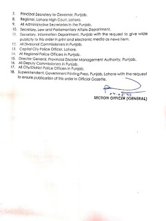PERMISSION TO OPEN SHRINES AND MAZAARS IN PUNJAB
