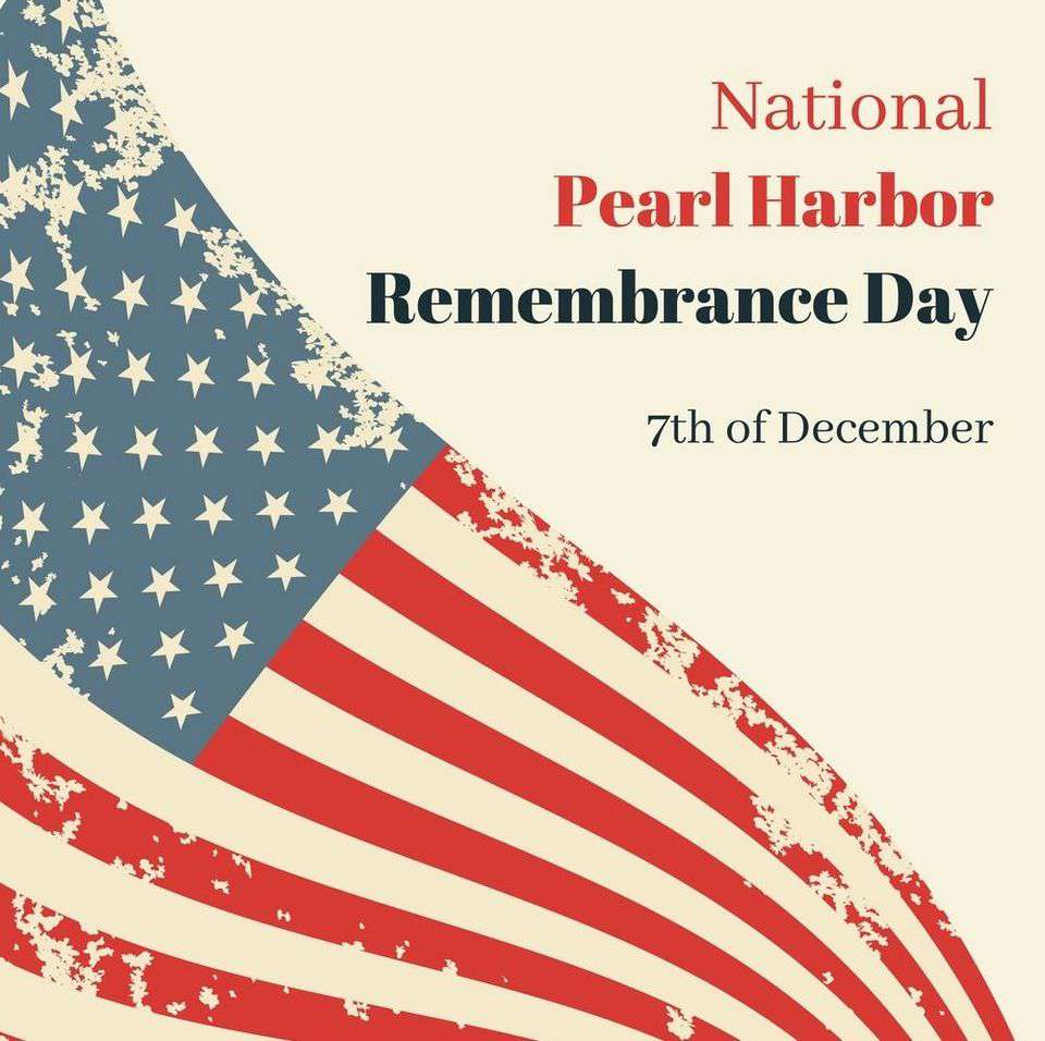 National Pearl Harbor Day of Remembrance Wishes Images