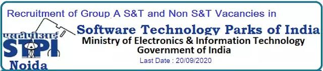 STPI Noida Recruitment 2020