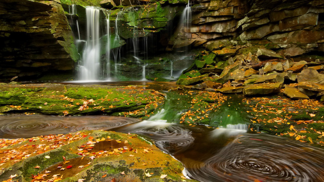 Beautiful Nature - Water Fall HD Latest Wallpaper 1080p ...