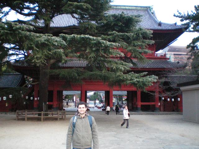 Sangedatsu mon en el templo Zojo ji