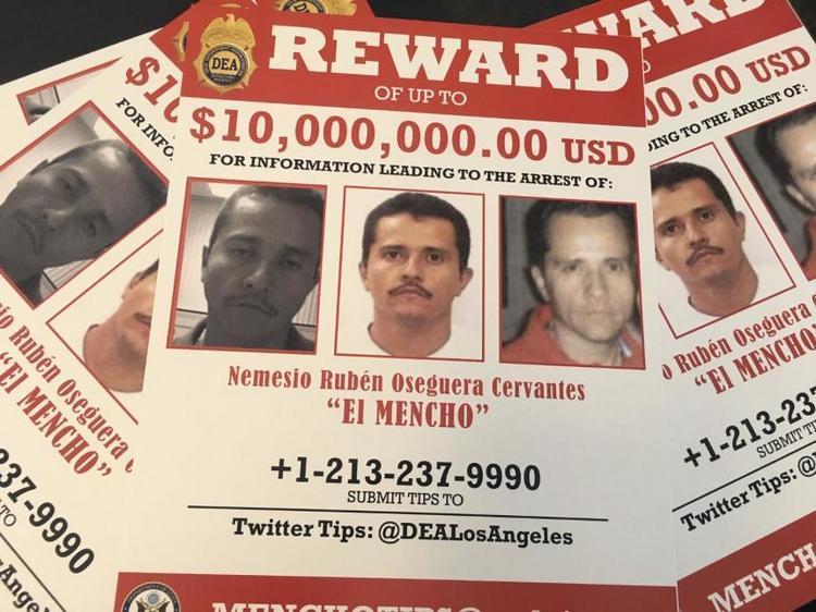 """""""El Mencho"""" lider del CJNG ahora se esconde en las montañas como lo hacía """"El Chapo"""", según la DEA"""