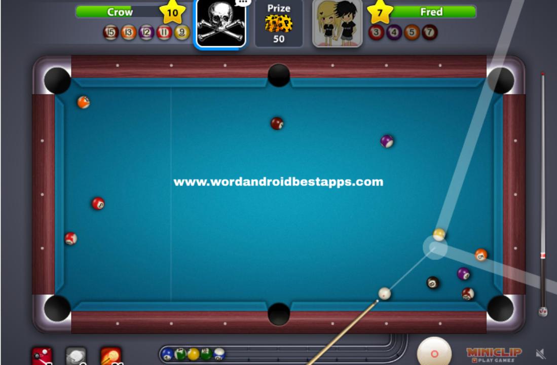 8BP|تنزيل لعبة البلياردو بال بول 8 BALL POOL مهكرة للاندرويد اخر اصدار v4.4.4.0 (اموال غير محدودة)