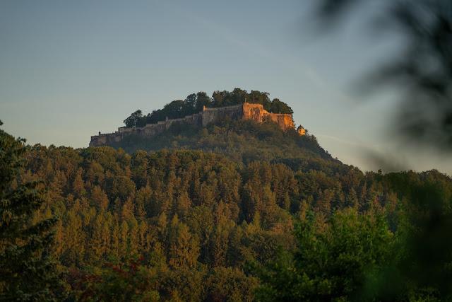 Malerweg Etappe 7 | Von Kurort Gohrisch bis Weißig | Wandern Sächsische Schweiz | Pfaffenstein – Festung Königstein 02