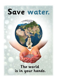 drawing on how to save water