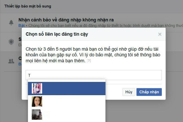 chống khóa facebook 3