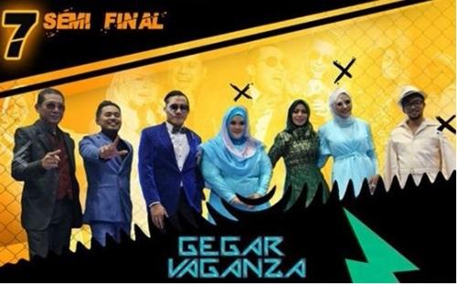 lagu konsert gegar vaganza 2017 separuh akhir, konsert semi final gegar vaganza 2017 musim 4, senarai lagu konsert gegar vaganza gv4 separuh akhir