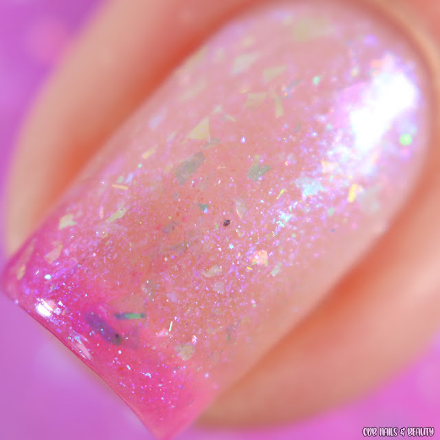 All Mixed Up Lacquers-Tickled Pink