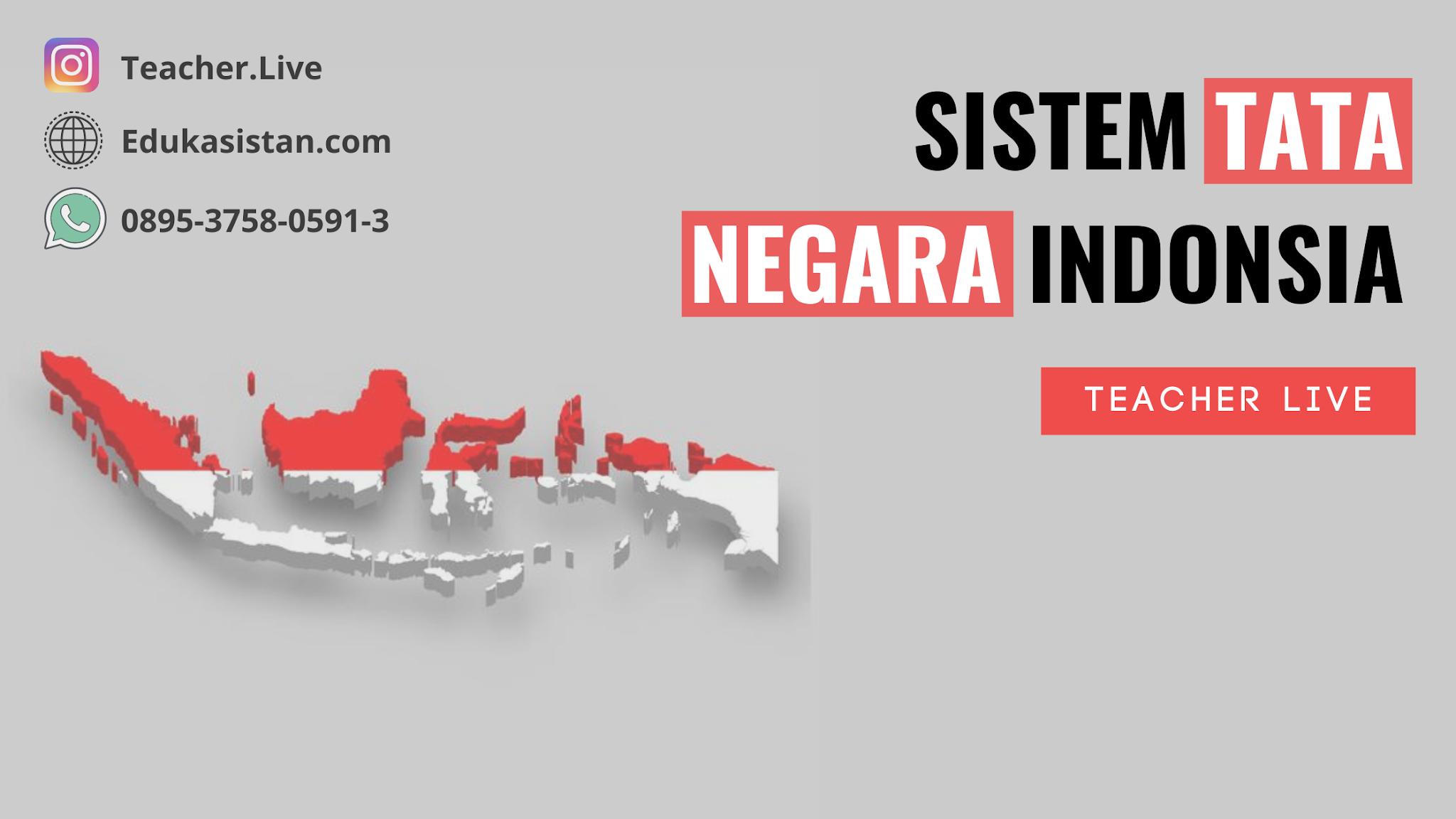 Sistem Tata Negara Indonesia
