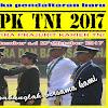 Penerimaan Calon Perwira Prajurit TNI Tahun 2017 (04 September - 27 Oktober 2017)
