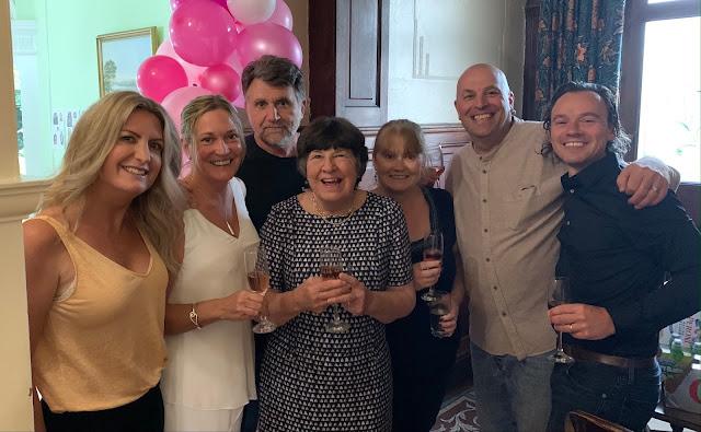 80th Birthday celebrations
