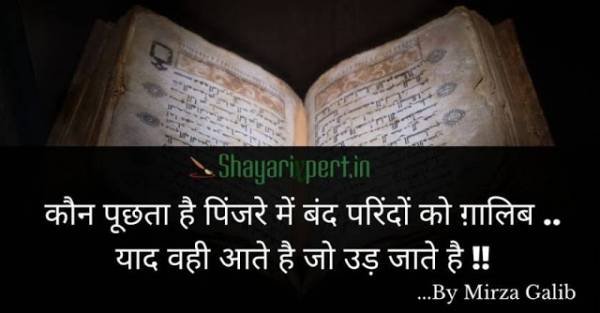 Top 30 Mirza Ghalib Shayari in Hindi 2 Lines - shayariXpert