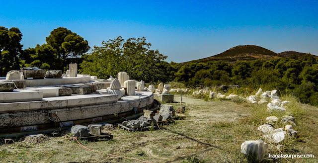 "O ""Labirinto de Hades"", no Sítio Arqueológico de Epidauros (Asklepeion)"