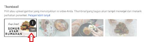Cara Memasang dan Mengganti Thumbnail di Youtube