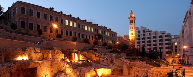 Beirut Down Town_The Archeological Discovery at a Glance
