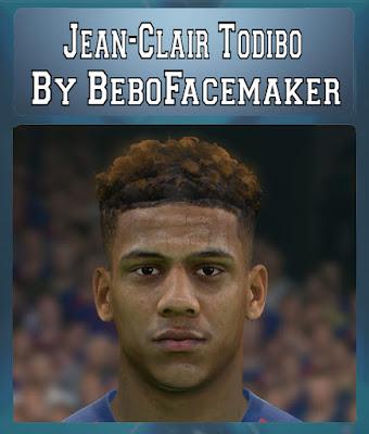 PES 2017 Jean-Clair Todibo Face by Bebo Facemaker
