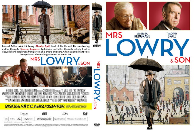 Mrs Lowry And Son DVD Cover