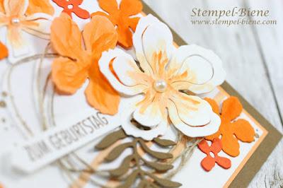 stampinup pflanzen-Potpourri; Blumenkarte; Geburtstagskarte; Matchthesketch; stempel-biene; Stampinupblog; Demonstrator werden