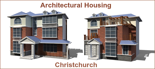 architectural housing in Christchurch