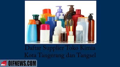 Daftar Supplier Toko Kimia di Kota Tangerang dan Tangsel