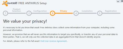 menu Privacy