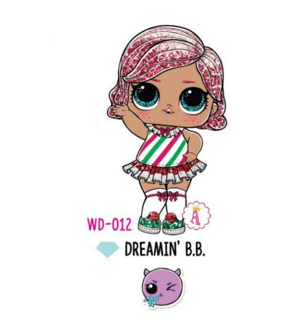 Dreamin' B.B. WD-012 Лол Сюрприз кукла леденец