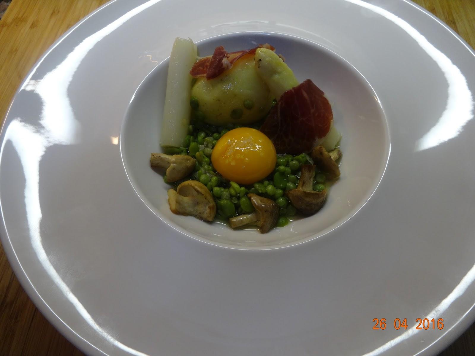 Cocinar es un sentimiento guisantes lagrima habitas for Cocinar yemas de huevo