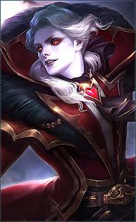 Alucard Viscount Heroes Fighter Assassin of Skins Starlight V2