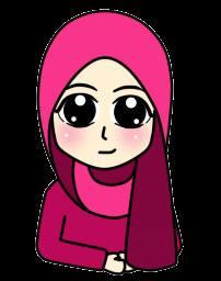Freebies :  Doodle - Girl ( Potrait )