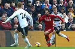 ليفربول يواجه فولهام في الدوري الإنجليزي