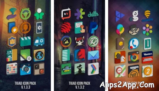 Tigad Pro Icon Pack APK