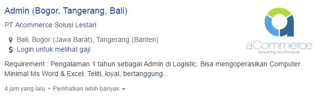 Lowongan Kerja Kabupaten Karangasem Terbaru  2019