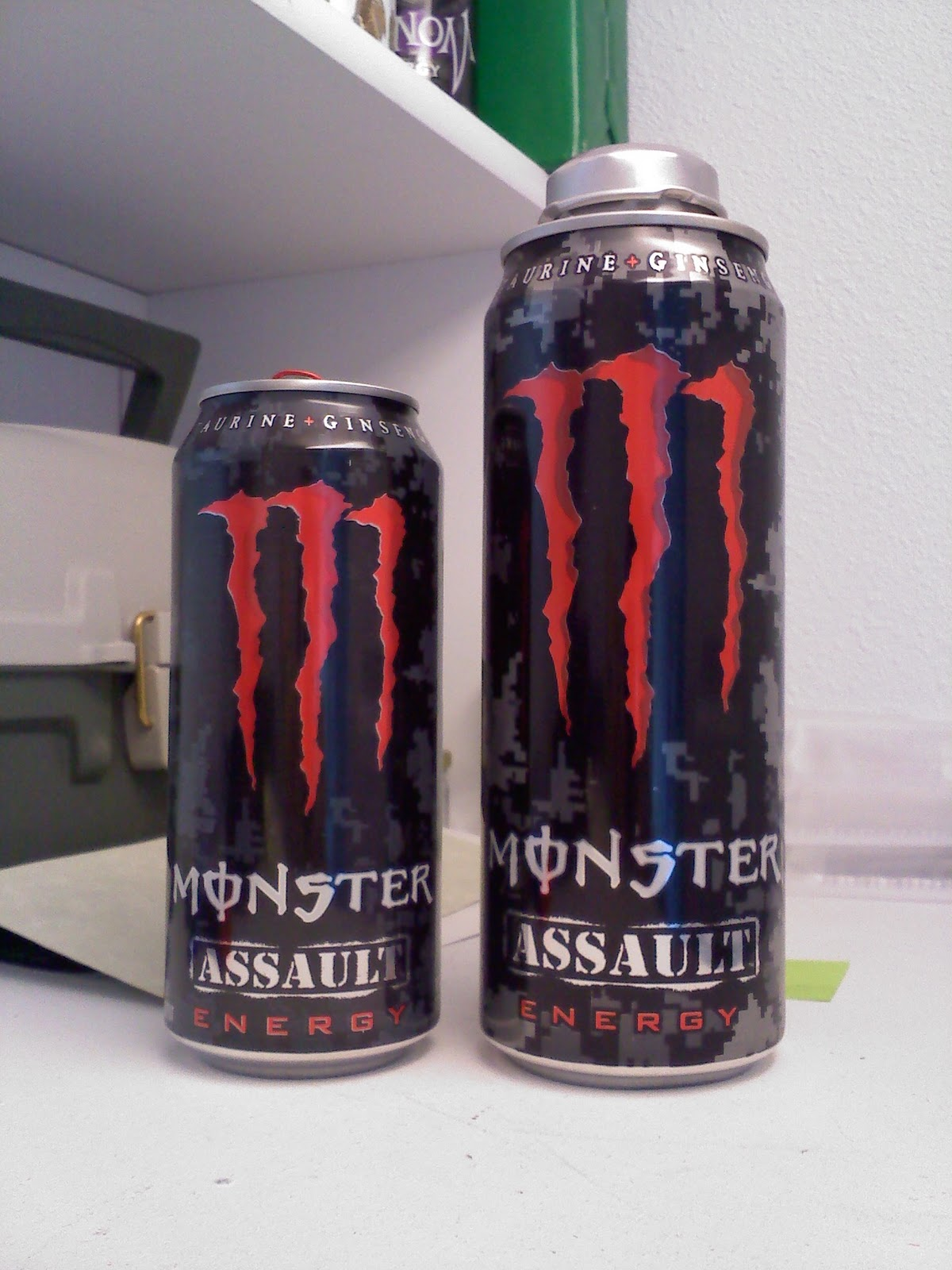 caffeine review for monster energy assault