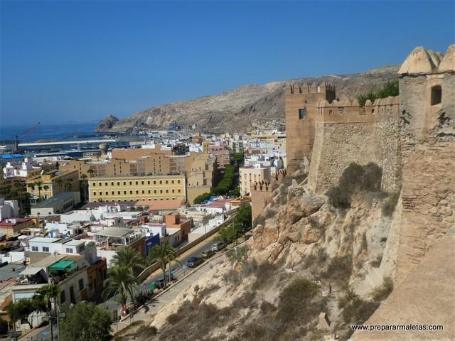 Visitar Alcazaba de Almería, guía y consejos