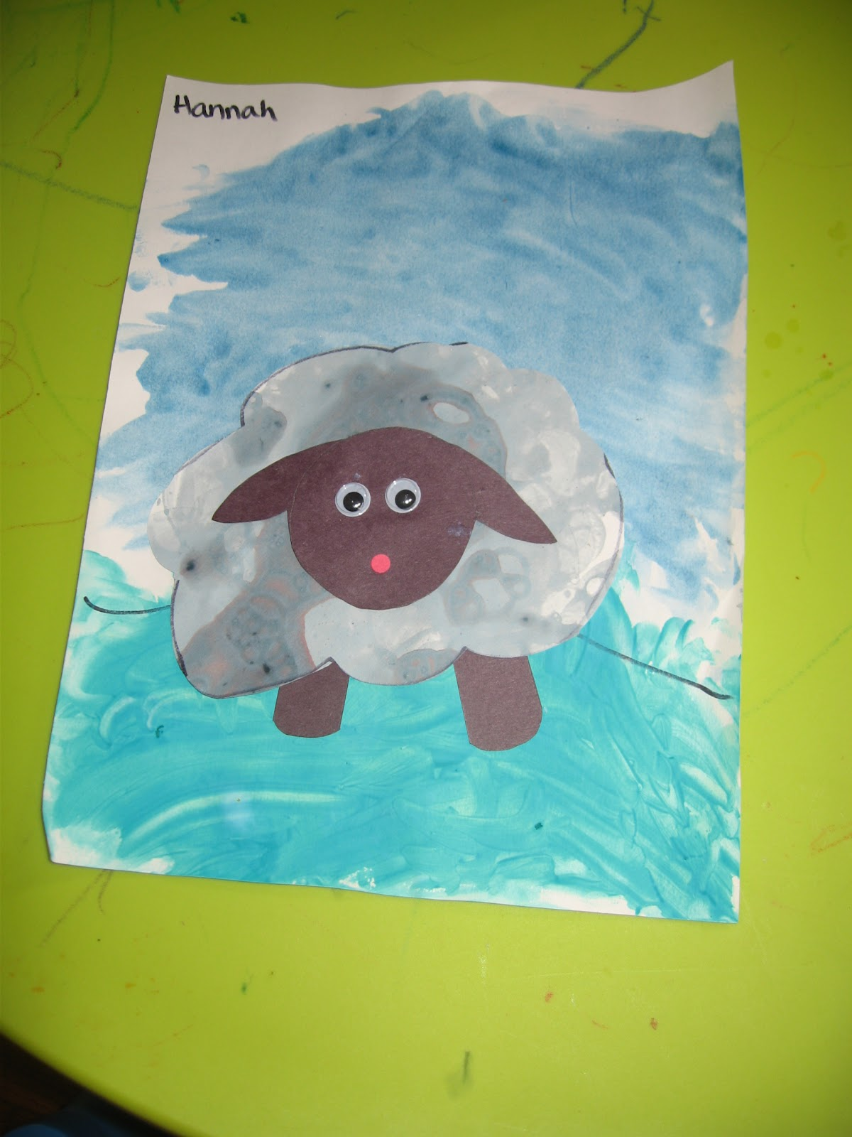 Five Minutes Peace Baa Baa Black Sheep Craft
