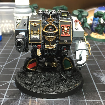 WIP: Deathwatch Dreadnought Front