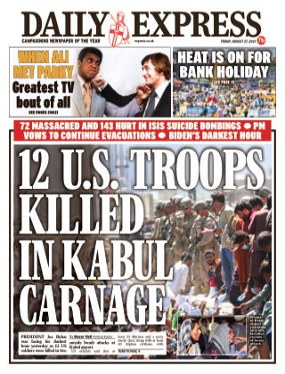 Daily Express Magazine 27 August 2021