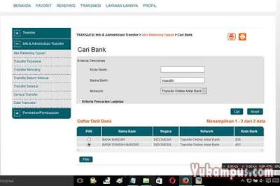 internet banking bni syariah