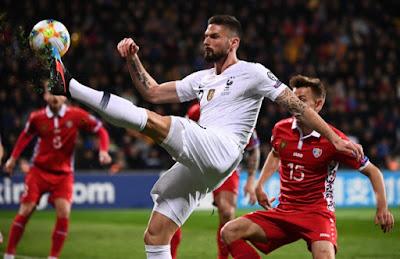 مشاهدة مباراة فرنسا ومولدوفا بث مباشر اليوم 14-11-2019 في تصفيات اليورو 2020