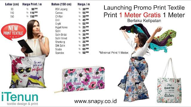 Tips kenakan jilbab printing