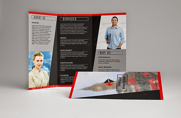 Brochure-Trifold Template