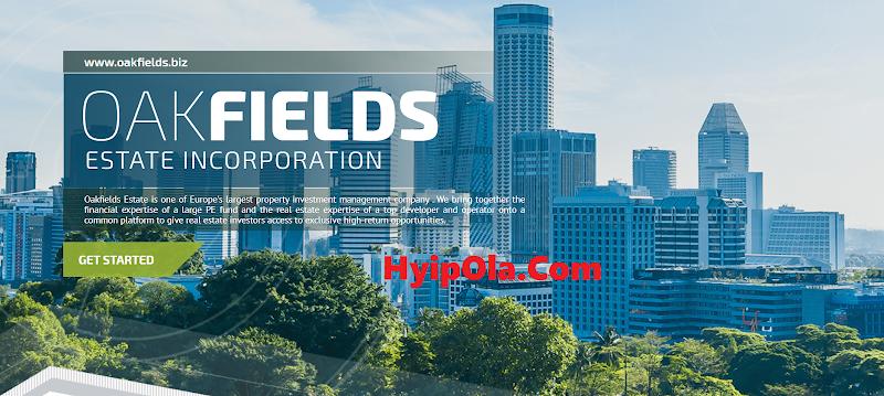 [SCAM] Review OakFields - Đầu tư vào dự án bất động sản - Lãi up 5.5% hằng ngày - Thanh toán tức thì