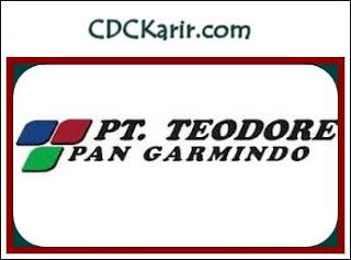 Loker SMA PT Teodore Pan Garmindo Tasikmalaya Terbaru